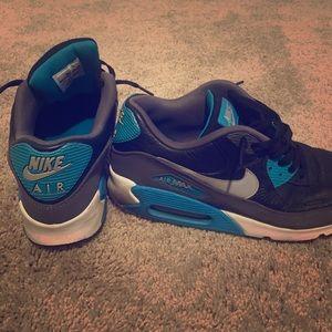 Black,Blue,White Air Max 90